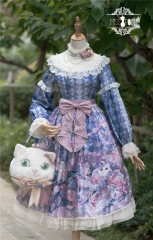 Miss Point -Elizabeth Meow- Vintage Classic Lolita OP Dress Version II