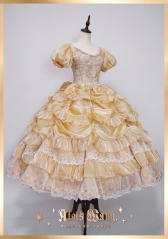 AloisWang -The Dancing Party- Vintage Classic Lolita OP Dress