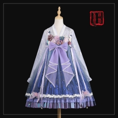(New Color) BoliCherry -The Flowering Trees- Qi Lolita JSK and Blouse Set