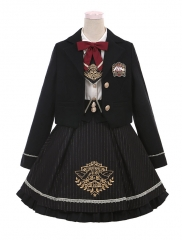 Sweet School Memories Lolita Blouse, Skirt, JSK and Short Jacket