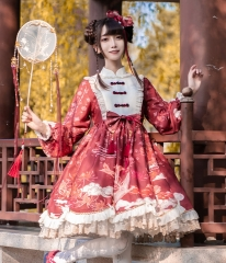 BaolegeMao -ZhuoMeng- Qi Lolita OP Dress