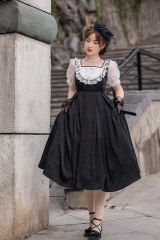 WithPuji -The Empty World- Vintage Classic Lolita OP Dress